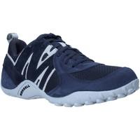 Cipők Férfi Rövid szárú edzőcipők Merrell J598439 Kék