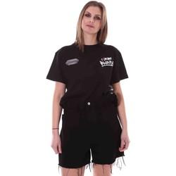 Ruhák Női Rövid ujjú pólók Disclaimer 21EDS50642 Fekete