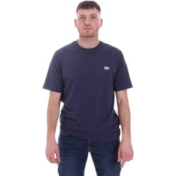Ruhák Férfi Rövid ujjú pólók Dickies DK0A4XDBNV01 Kék