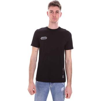 Ruhák Férfi Rövid ujjú pólók Disclaimer 21EDS50517 Fekete