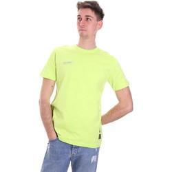 Ruhák Férfi Rövid ujjú pólók Disclaimer 21EDS50517 Zöld