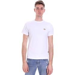Ruhák Férfi Rövid ujjú pólók Dickies DK0A4XDAWHX1 Fehér