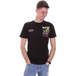 Ruhák Férfi Rövid ujjú pólók Disclaimer 21EDS50522 Fekete