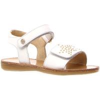 Cipők Lány Szandálok / Saruk Naturino 502714 01 Fehér