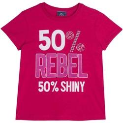 Ruhák Gyerek Rövid ujjú pólók Chicco 09067157000000 Rózsaszín