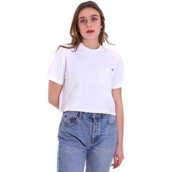 Ruhák Női Rövid ujjú pólók Dickies DK0A4XDEWHX1 Fehér
