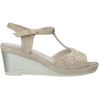 Cipők Női Szandálok / Saruk Melluso HR70511 Bézs