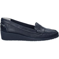 Cipők Női Mokkaszínek Melluso 0250X Kék