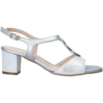 Cipők Női Szandálok / Saruk Melluso K95350 Ezüst