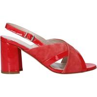 Cipők Női Szandálok / Saruk Melluso HS530 Piros