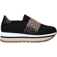 Cipők Női Belebújós cipők Grace Shoes GLAM007 Fekete