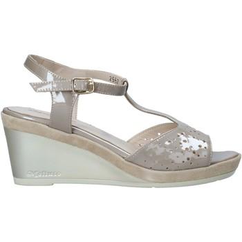 Cipők Női Szandálok / Saruk Melluso HR70520 Bézs