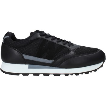 Cipők Férfi Divat edzőcipők Melluso U93200X Fekete