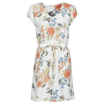 Ruhák Női Rövid ruhák Betty London OWAKA Fehér / Sokszínű
