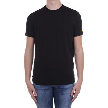 Ruhák Férfi Rövid ujjú pólók Dsquared2 Underwear D9M203540 Black