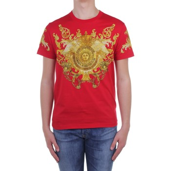 Ruhák Férfi Rövid ujjú pólók Versace Jeans Couture B3 GWA7S1S0274 Red