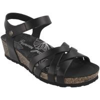 Cipők Női Szandálok / Saruk Panama Jack  Negro