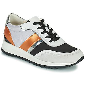 Cipők Női Rövid szárú edzőcipők Geox TABELYA Fehér