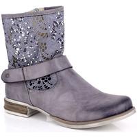 Cipők Női Csizmák Kimberfeel ANAELLE Gris