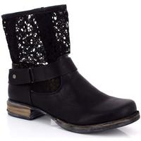 Cipők Női Bokacsizmák Kimberfeel ANAELLE Noir
