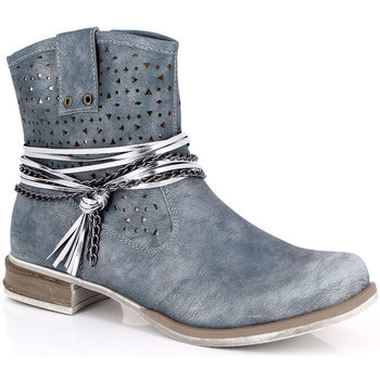 Cipők Női Bokacsizmák Kimberfeel MARGOT Bleu