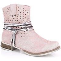 Cipők Női Bokacsizmák Kimberfeel MARGOT Rose