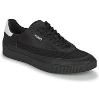 Cipők Férfi Rövid szárú edzőcipők HUGO ZERO TENN Fekete