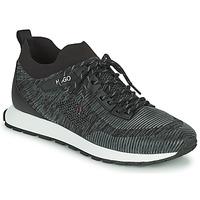 Cipők Férfi Rövid szárú edzőcipők HUGO ICELIN RUNN Fekete