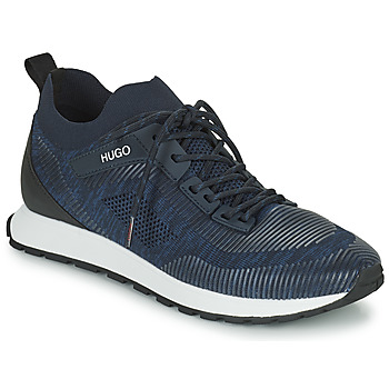 Cipők Férfi Rövid szárú edzőcipők HUGO ICELIN RUNN Tengerész