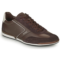 Cipők Férfi Rövid szárú edzőcipők BOSS Saturn_Lowp_ltal Barna