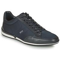 Cipők Férfi Rövid szárú edzőcipők BOSS Saturn_Lowp_nyst Tengerész