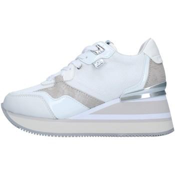 Cipők Női Magas szárú edzőcipők Apepazza S1HIGHNEW07/NYL WHITE