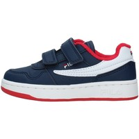 Cipők Fiú Rövid szárú edzőcipők Fila 1011078 NAVY BLUE
