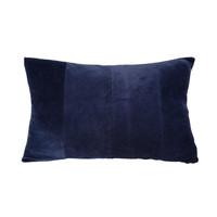 Otthon Párnák Present Time RIBBED Kék / Este