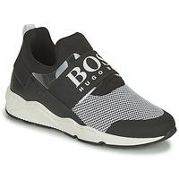 Cipők Rövid szárú edzőcipők BOSS NATINA Fekete  / Fehér