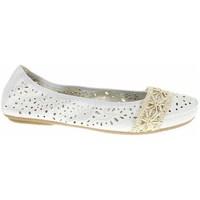 Cipők Női Balerina cipők  Rieker 4146681 Fehér