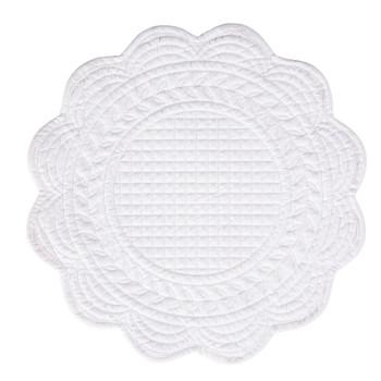 Otthon Tányéralátét Côté Table BOUTIS Fehér