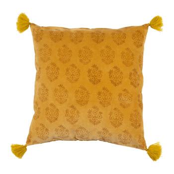 Otthon Párnahuzatok Sema BAYLEEN Citromsárga / Mustár sárga