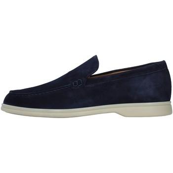 Cipők Férfi Mokkaszínek Rossano Bisconti 358-02 BLUE