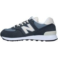 Cipők Férfi Rövid szárú edzőcipők New Balance ML574SYP BLUE