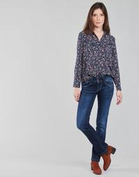 Ruhák Női Egyenes szárú farmerek Pepe jeans NEW GEN Kék / Bruttó / Dh3