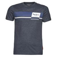 Ruhák Férfi Rövid ujjú pólók Pepe jeans KADE Kék