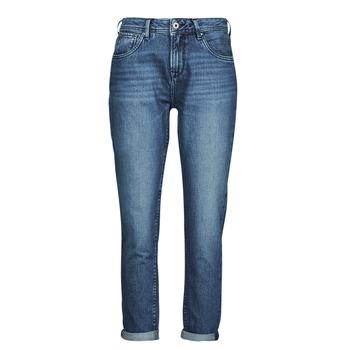Ruhák Női Egyenes szárú farmerek Pepe jeans VIOLET Kék / Átlagos