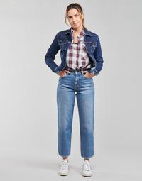 Ruhák Női Egyenes szárú farmerek Pepe jeans DOVER Kék / Tiszta