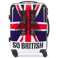 Táskák Keményfedeles bőröndök David Jones UNION JACK 53L Sokszínű