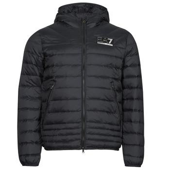 Ruhák Férfi Steppelt kabátok Emporio Armani EA7 MOUNTAIN M DOWN Fekete
