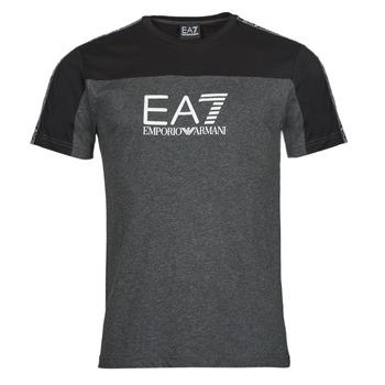 Ruhák Férfi Rövid ujjú pólók Emporio Armani EA7 TRAIN ATHLETIC Fekete