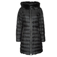 Ruhák Női Steppelt kabátok MICHAEL Michael Kors ECO LONG PERFMNC PUFFER Fekete