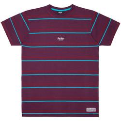 Ruhák Férfi Rövid ujjú pólók Jacker Rtk stripes Lila