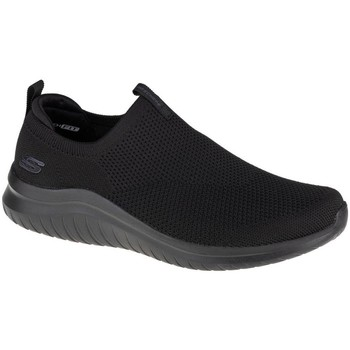 Cipők Férfi Belebújós cipők Skechers Ultra Flex 20 Kwasi Fekete